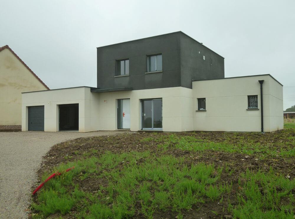 Construction maison contemporaine Rouen