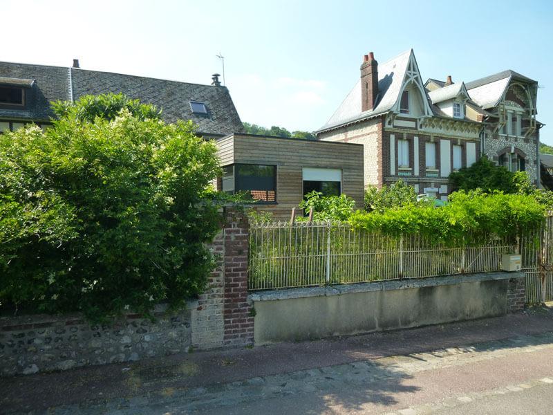 Extension maison bords de Seine