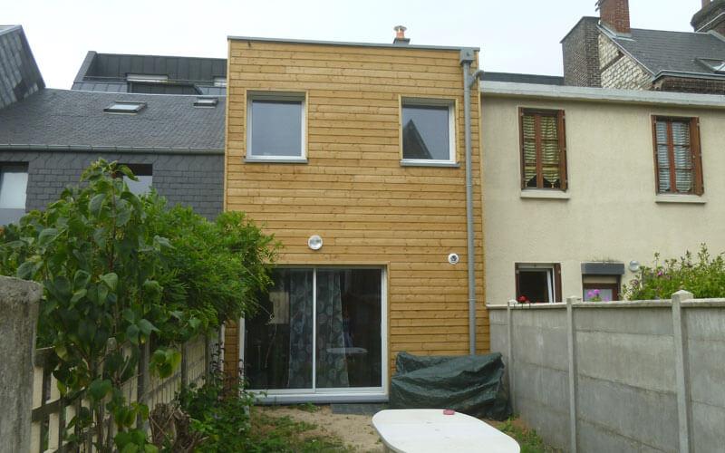 extension maison osaature 40m2 Rouen
