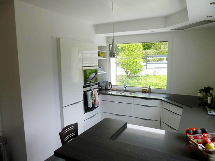 Aménagement d'une cuisine sur mesure Rouen